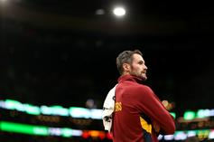 "Report: Kevin Love Had ""Verbal Outburst"" Directed At Front Office"