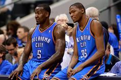 """Kevin Durant, Kendrick Perkins Trade Jabs On Twitter: """"You Took The Coward Way Out!"""""""
