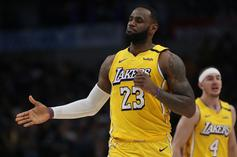LeBron James Parties It Up On Stage With Bad Bunny In L.A: Watch