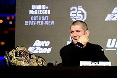 Khabib Receives $100M Offer To Box Floyd Mayweather: Report