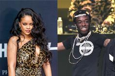 Rihanna Flashes Her Underwear & Lil Uzi Vert Approves