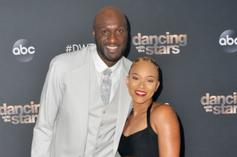 Lamar Odom Enjoys Engagement Party With Fiancée Sabrina Parr & Daughter Destiny Odom