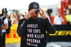 Lewis Hamilton Investigated By F1 Over Breonna Taylor Tribute