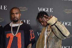 """Travis Scott Agreed To Do A """"Gangsta Grillz"""" Tape Before Kanye West Intervened"""