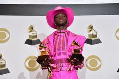 """Lil Nas X Loses The Cowboy Hat In """"Holiday"""" Trailer"""