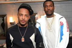 T.I. Celebrates Years Of Meek Mill Friendship With Throwback Pic