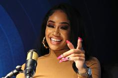 """Saweetie Says She """"Stole"""" Her Mom's Face With New Throwback Photo"""