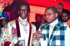 Young Thug & Gunna Post Bail For 30 Low-Level Offenders