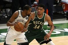 "Giannis Antetokounmpo Praises Kevin Durant: ""I Looked Up To Him My Whole Life"""
