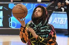 J. Cole Seen Gifting His Basketball Team With New Gear