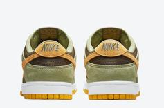 """Nike Dunk Low """"Dusty Olive"""" Releases Soon: Official Photos"""