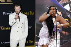 Chris Evans Reacts To Lizzo Joking About Him Being Her Baby's Father