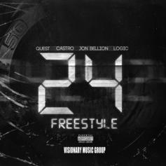Logic - 24 Freestyle Feat. QuESt, Castro & Jon Bellion