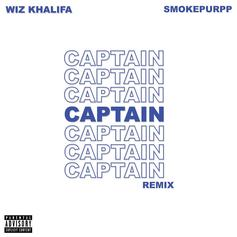 "Wiz Khalifa Calls On Smokepurpp For His New Remix To ""Captain"""