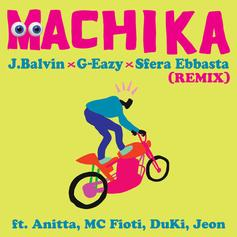 "J Balvin Recruits G-Eazy & MC Fioti On Pan American Remix Of ""Machika"""