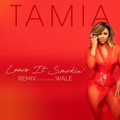 "Wale Jumps On Tamia's ""Leave It Smokin"" Remix"
