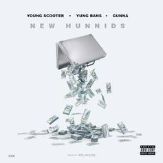 "Young Scooter, Gunna & Yung Bans Rifle Through A Stack Of ""New Hunnids"""