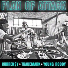 """Curren$y, Trademark Da Skydiver & Young Roddy Go Off On """"Plan Of Attack"""""""