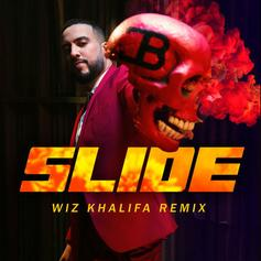 "French Montana Calls On Wiz Khalifa For ""Slide (Remix)"" With Blueface & Lil Tjay"