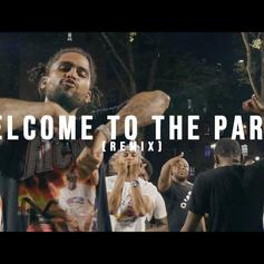 "Dave East & Kiing Shooter Remix Pop Smoke's ""Welcome To The Party"""