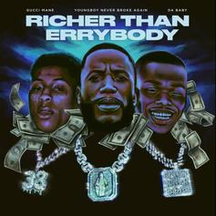 "Gucci Mane Connects With DaBaby & NBA YoungBoy On ""Richer Than Errybody"""