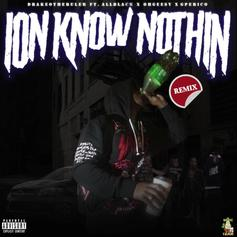 "Drakeo The Ruler Gets Support From ALLBLACK, G Perico & Ohgeesy On The ""Ion Know Nothin Remix"""