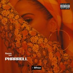 "Pharrell Joins Snoh Aalegra On The Remix To ""Whoa"""