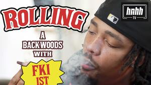 FKi 1st Was The First Person To Smoke A Backwoods In Wiz Khalifa's Crib