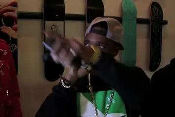 """Curren$y """"""""The Stoned Immaculate"""" Listening Party"""" Video"""