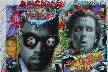 """James Franco & Other Artists """"Add Graffiti"""" to """"Yeezus"""" Posters"""