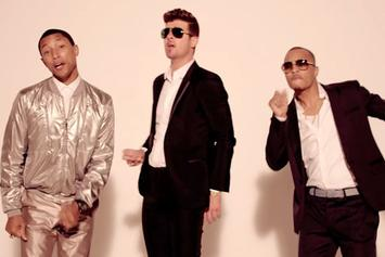 "Robin Thicke's ""Blurred Lines"" Breaks Record For Highest Radio Audience"
