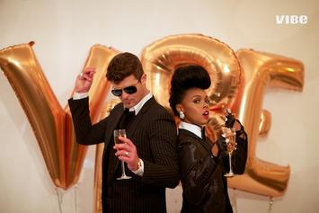 Robin Thicke & Janelle Monáe Cover VIBE's 20th Anniversary Issue