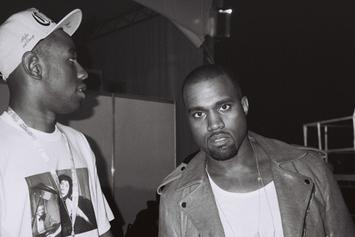 "Kanye West & Tyler, The Creator Perform ""Late"" @ Odd Future Carnival"