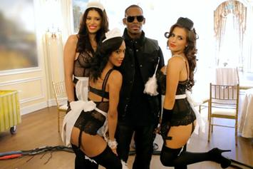 "R. Kelly's BTS Of ""Cookie"""
