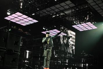 Jay Z Brings Out Meek Mill In Philly