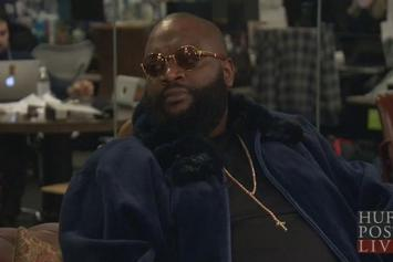 "Rick Ross Talks ""Mastermind"" & More On HuffPost Live"