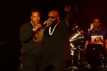 """Rick Ross Brings Out Busta Rhymes & The LOX At """"Mastermind"""" Release Concert"""