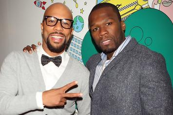 "50 Cent Says He And Common Have ""BIG THINGS TO COME"""