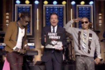 "T.I. & Young Thug Perform ""About The Money"" Live On Jimmy Fallon"