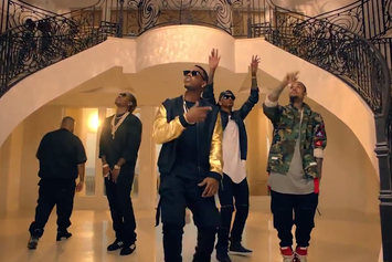 """DJ Khaled Feat. Chris Brown, August Alsina, Future & Jeremih """"Hold You Down"""" Video"""