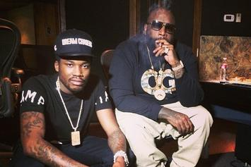 Rick Ross Shares Pictures Of Meek Mill In Jail