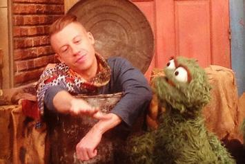 Macklemore Raps About Trash With Oscar The Grouch