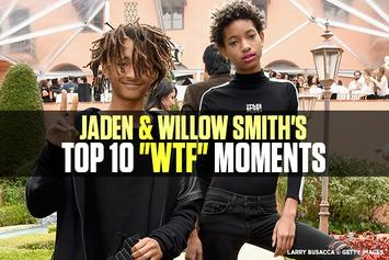 "Jaden & Willow Smith's Top 10 ""WTF"" Moments"
