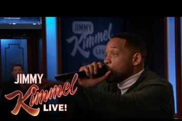 """Will Smith Performs """"Summertime"""" On Jimmy Kimmel"""