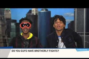 "Rae Sremmurd Can't Contain Their Energy On ESPN's ""Highly Questionable"""