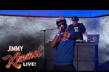 "Bobby Shmurda ""Hot Boy (Jimmy Kimmel Live)"" Video"