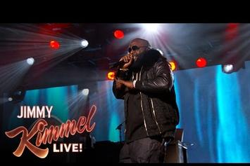 "Rick Ross Performs ""If They Knew"" On Jimmy Kimmel Live"