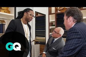 """2 Chainz Gets A Custom Suit On GQ's """"Most Expensivest Shit"""""""