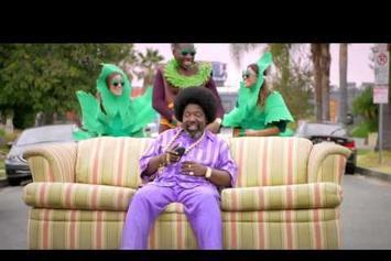 "Afroman ""Because I Got High (Positive Remix)"" Video"
