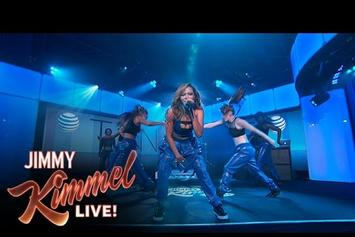 "Tinashe & ScHoolboy Q Perform ""2 On"" Live On Jimmy Kimmel"